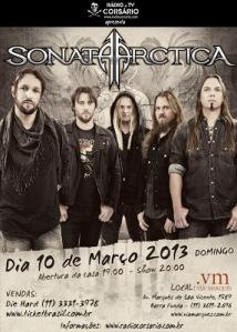 Sonata Arctica em São Paulo-SP
